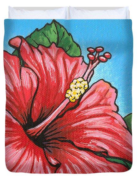 Hibiscus 05 Duvet Cover