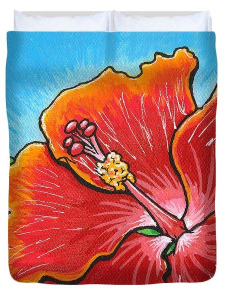 Hibiscus 06 Duvet Cover