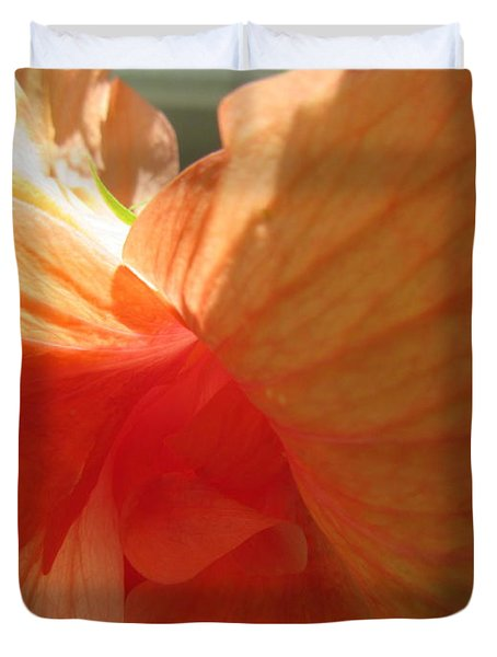 Hibiscus Butterfly Duvet Cover