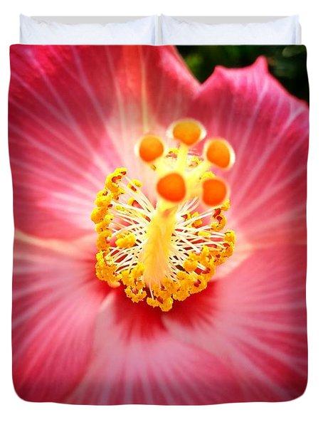 Hibiscus Highland  Duvet Cover
