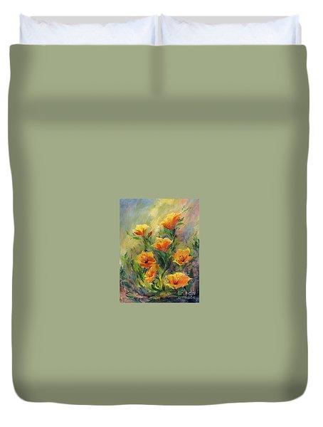 Hibiscus Duvet Cover by Madeleine Holzberg