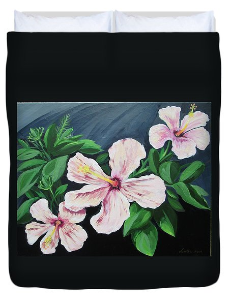 Hibiscus No. 1 Duvet Cover