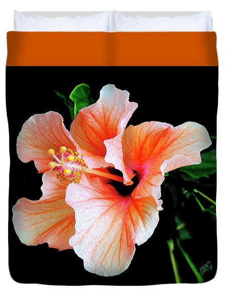 Hibiscus Spectacular Duvet Cover by Ben and Raisa Gertsberg