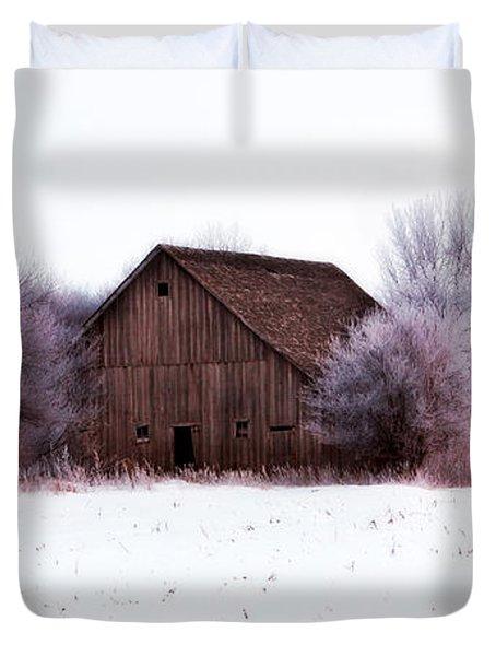 Hidden Barn Duvet Cover by Julie Hamilton
