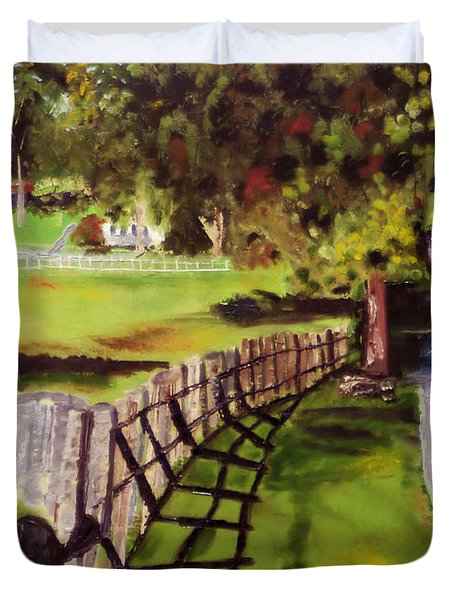 Hidden Brook Farm Duvet Cover