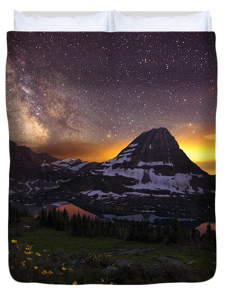 Hidden Galaxy Duvet Cover
