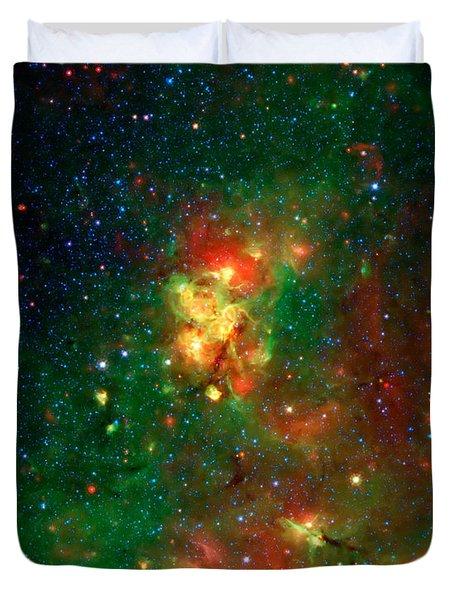 Hidden Nebula 2 Duvet Cover by Jennifer Rondinelli Reilly - Fine Art Photography