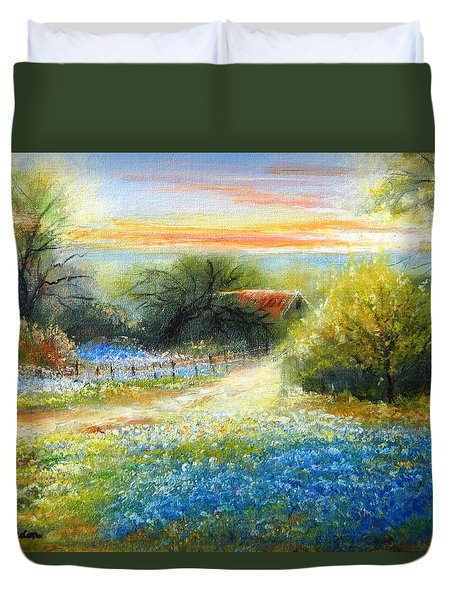 Hidden Places Duvet Cover
