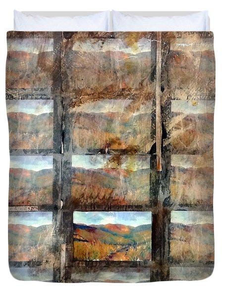 Hidden Valley Duvet Cover