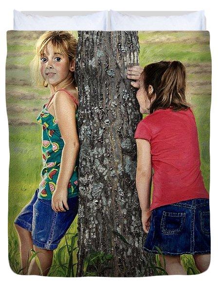 Hide And Seek Duvet Cover