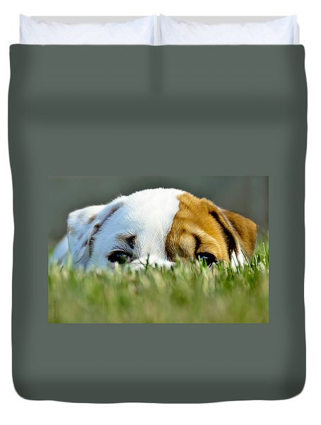 Hide And Seek Novice Duvet Cover