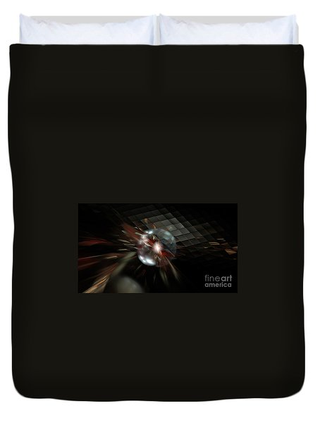 Higgs Boson Duvet Cover by Peter R Nicholls