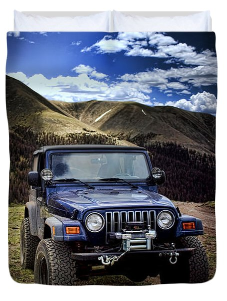 High Country Adventure Duvet Cover