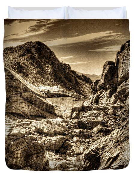 High Country Duvet Cover