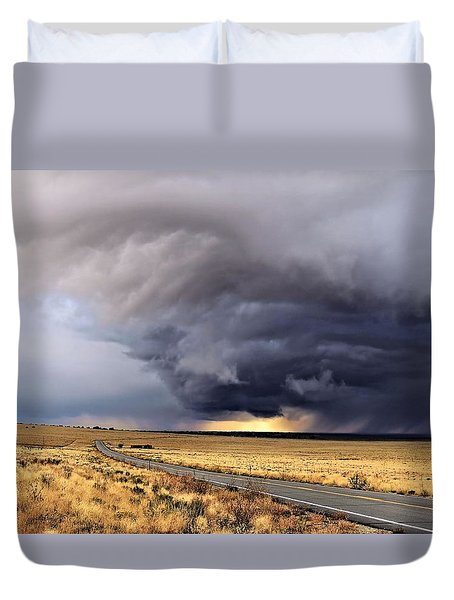 High Desert Drama Duvet Cover by Laura Ragland