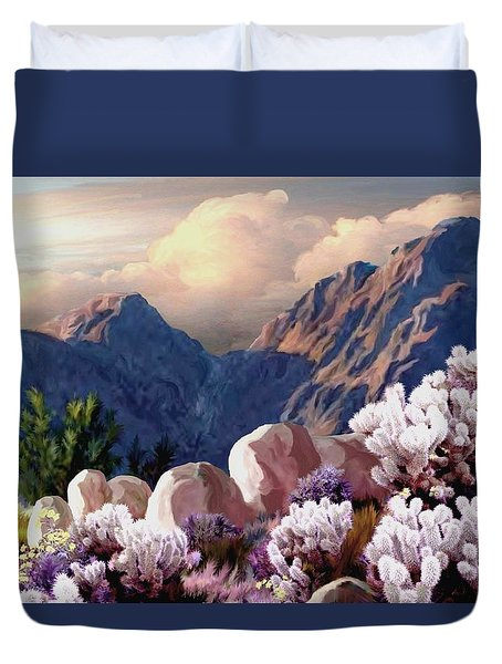 High Desert Sunrise Duvet Cover