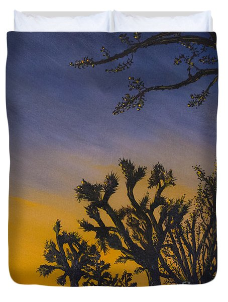 High Desert Twilight Duvet Cover