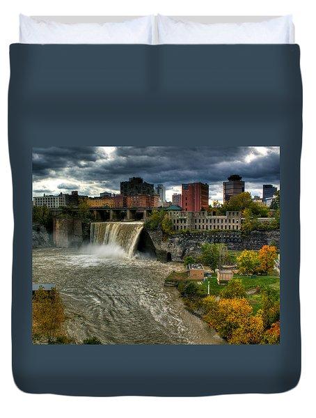 High Falls Duvet Cover by Tim Buisman
