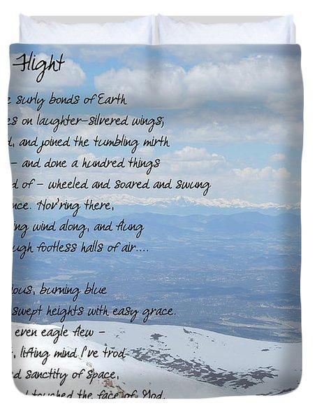 High Flight Duvet Cover