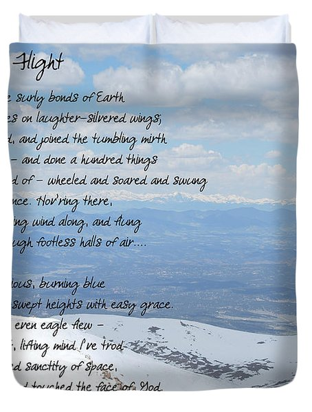 High Flight Duvet Cover