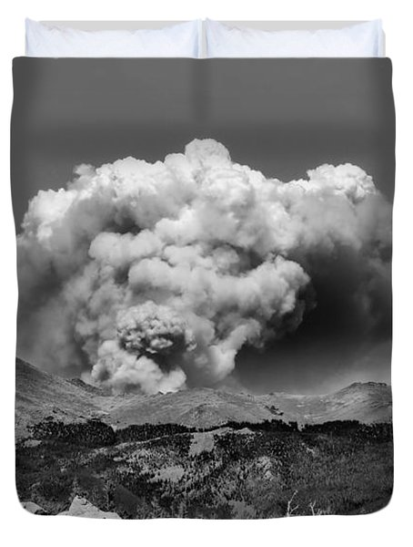 High Park Fire Duvet Cover