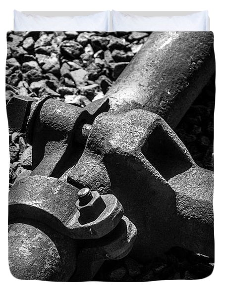 High Pressure Mining Duvet Cover by Bob and Nadine Johnston