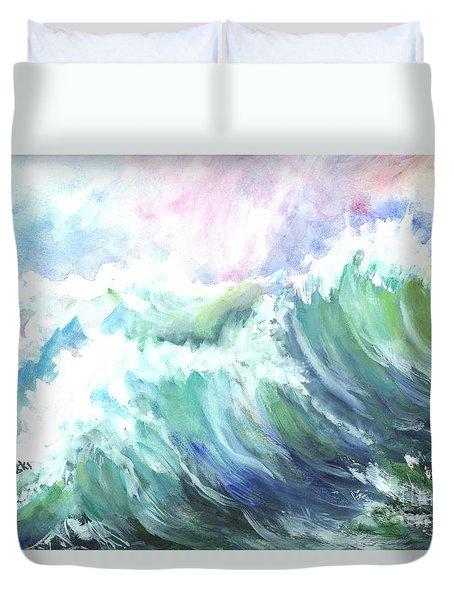 High Seas Duvet Cover by Carol Wisniewski