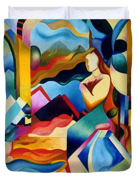 High Sierra Duvet Cover by Sally Trace