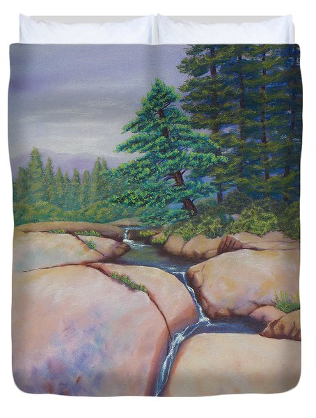High Sierras Duvet Cover