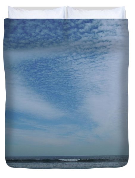 High Sky Duvet Cover by Ellen Meakin