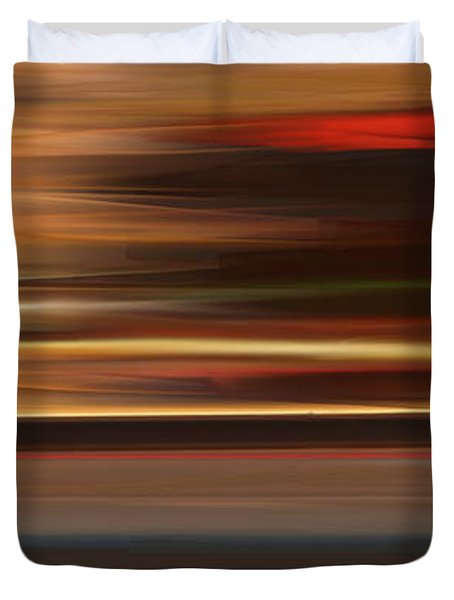 High Speed 3 Duvet Cover by Rabi Khan