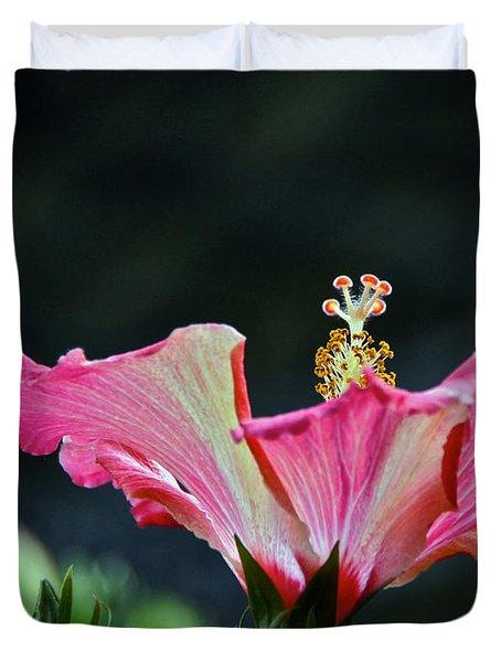 High Speed Hibiscus Flower Duvet Cover