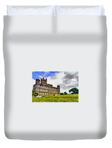 Highclere Castle Duvet Cover