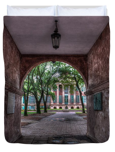 Higher Education Tunnel Duvet Cover