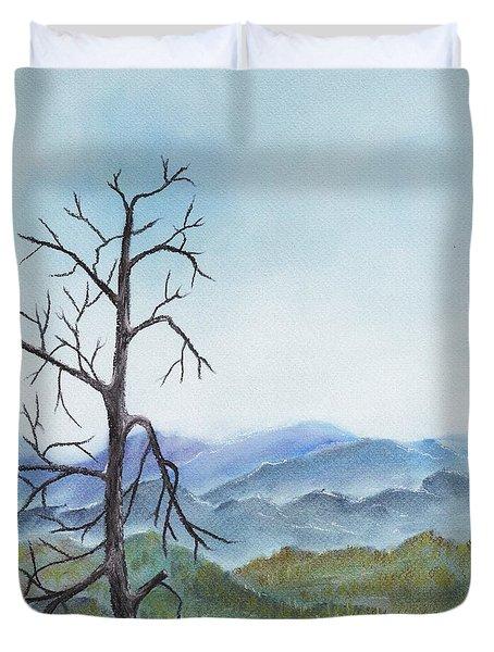 Highland Duvet Cover by Anastasiya Malakhova