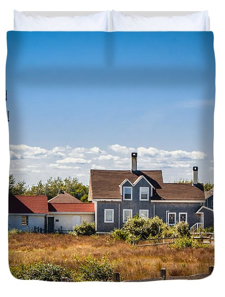 Highland Light Duvet Cover by Brian Caldwell