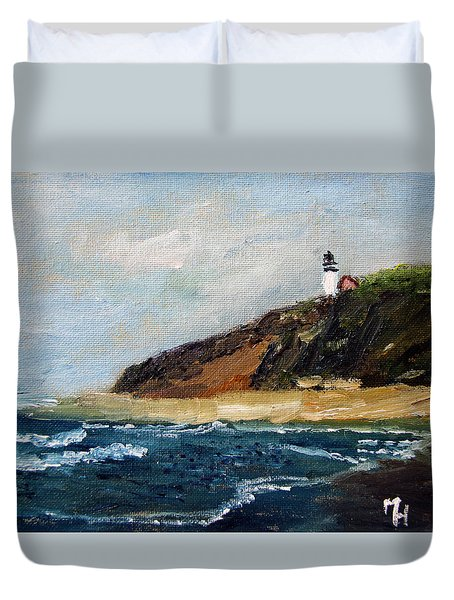 Highland Light Duvet Cover