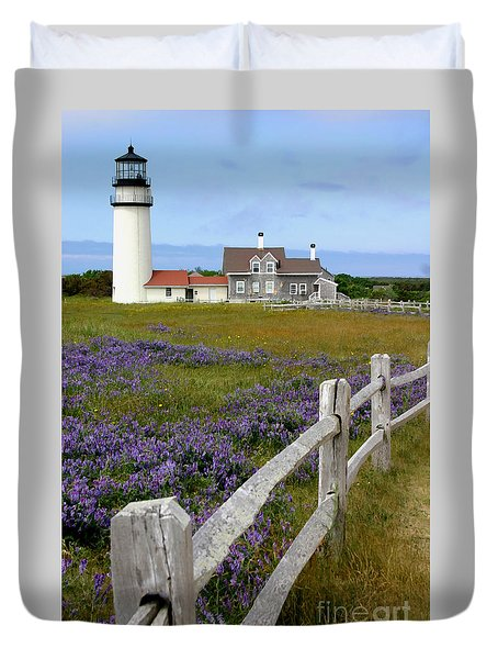 Highland Lighthouse Duvet Cover