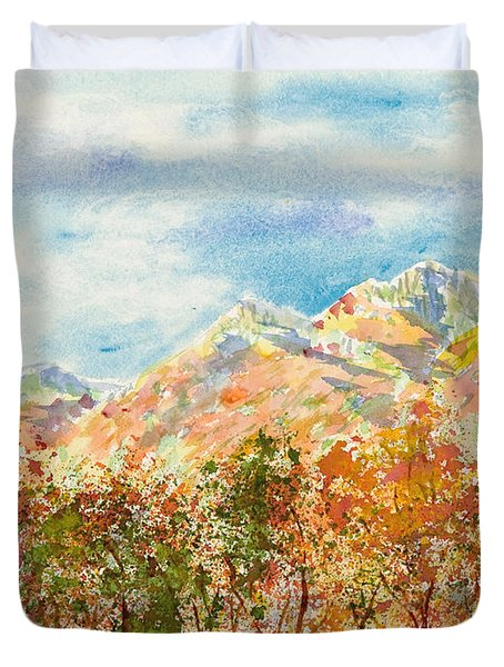 Highlands Autumn Duvet Cover