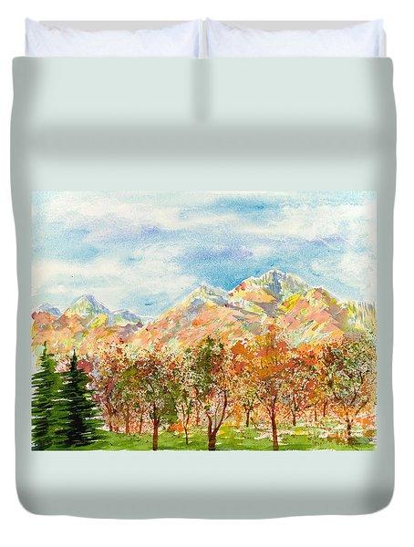 Highlands Autumn Duvet Cover