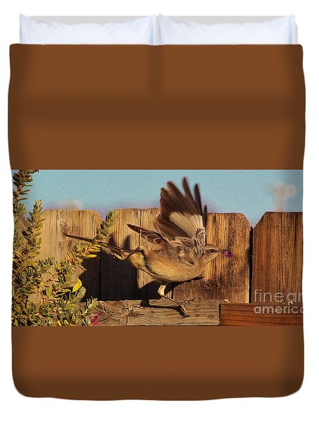 Hightail It Out Of There Duvet Cover