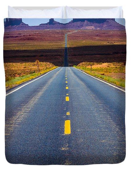 Highway 163 Duvet Cover