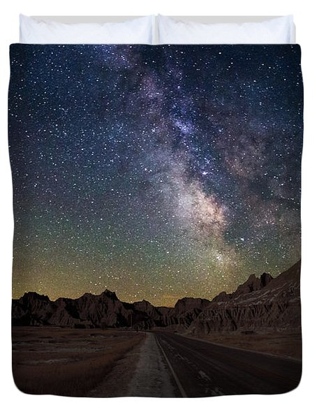 Highway To Duvet Cover