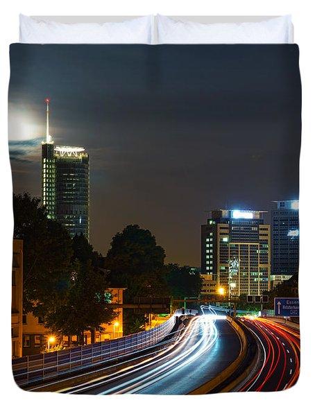 Highway To Essen Duvet Cover by Daniel Heine