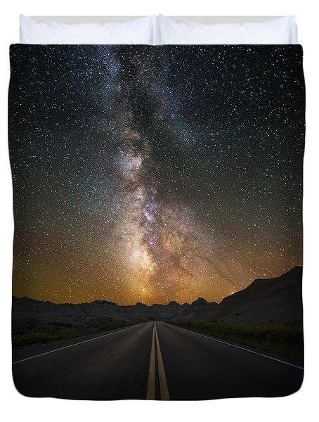 Highway To Heaven Duvet Cover