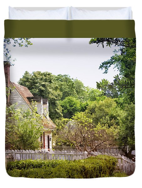 Hill Cottage Duvet Cover