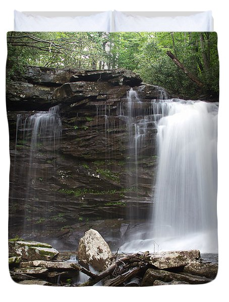 Second Fall Of Hills Creek Duvet Cover