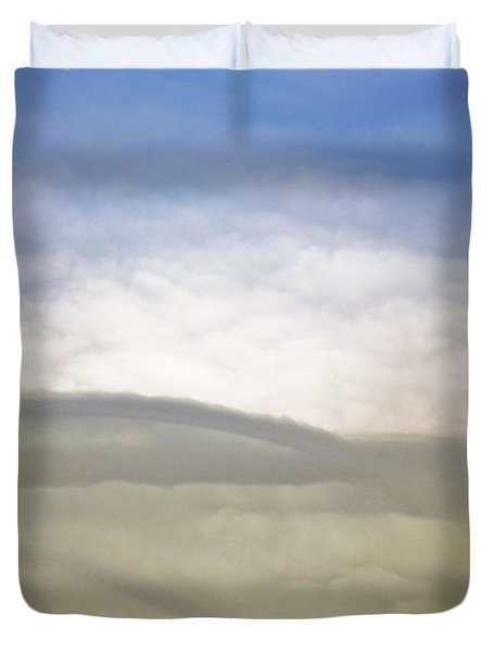 Hills Clouds And Sky Duvet Cover