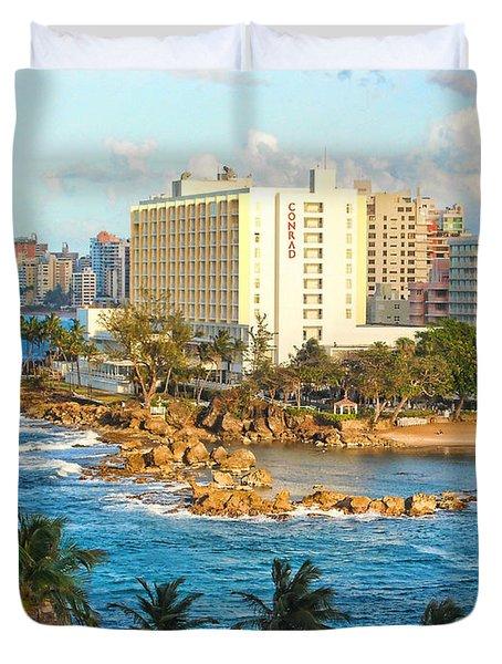 Hilton Conrad Duvet Cover by Daniel Sheldon
