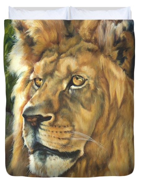 Him - Lion Duvet Cover